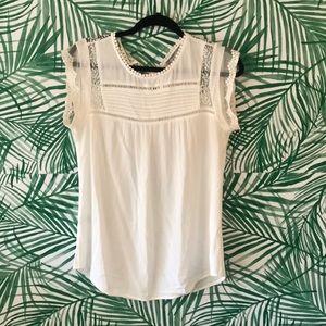 Daniel Rainn bercu lace white blouse Stitch Fix